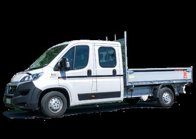 Dreiseitenkipper Doppelkabine – FIAT DUCATO